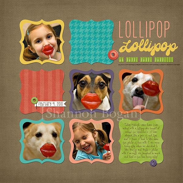 Lollipop web
