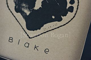 Baby Footprints Frame