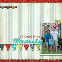 All-American Family web